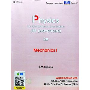 Physics For Joint Entrance Examination Jee Advanced Mechanics 1 By B M Sharma-(English)