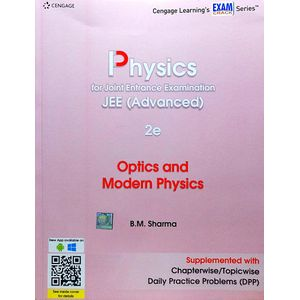 Physics For Joint Entrance Examination Jee Advanced Optics & Modern Physics By B M Sharma-(English)