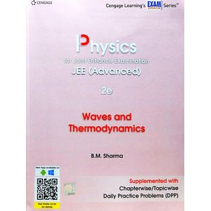 Physics For Joint Entrance Examination Jee Advanced Waves & Thermodynamics By B M Sharma-(English)