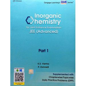 Inorganic Chemistry For Joint Entrance Examination Jee Advanced Part 1 By K S Verma, P Dwivedi-(English)