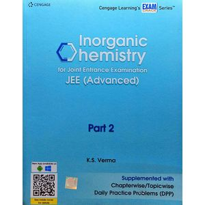 Inorganic Chemistry For Joint Entrance Examination Jee Advanced Part 2 By K S Verma-(English)