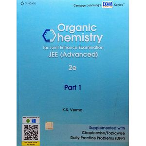Organic Chemistry For Joint Entrance Examination Jee Advanced Part 1 By K S Verma-(English)