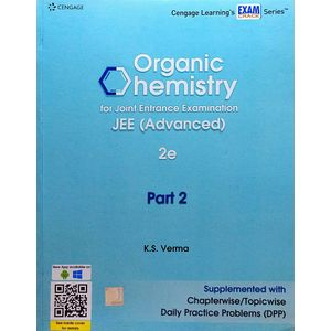 Organic Chemistry For Joint Entrance Examination Jee Advanced Part 2 By K S Verma-(English)