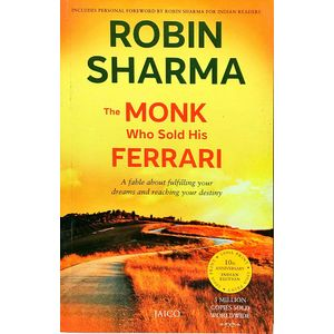 The Monk Who Sold His Ferrari By Robin Sharma-(English)