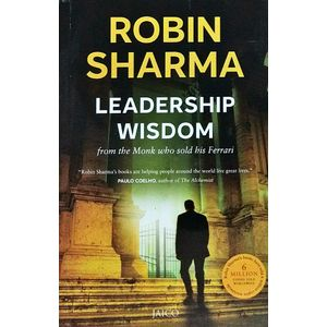 Leadership Wisdom From The Monk Who Sold His Ferrari By Robin Sharma-(English)