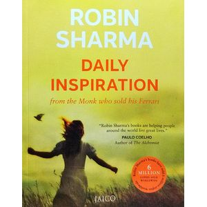 Daily Inspiration From The Monk Who Sold His Ferrari By Robin Sharma-(English)