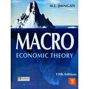 Macro Economic Theory By M L Jhingan-(English)