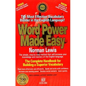 Word Power Made Easy By Norman Lewis-(English)