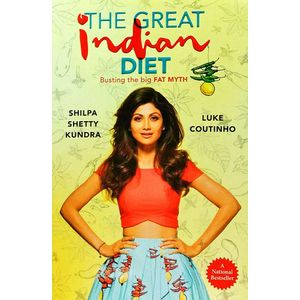 The Great Indian Diet By Shilpa Shetty Kundra, Luke Coutinho-(English)