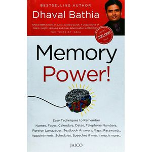 Memory Power By Dhaval Bathia-(English)