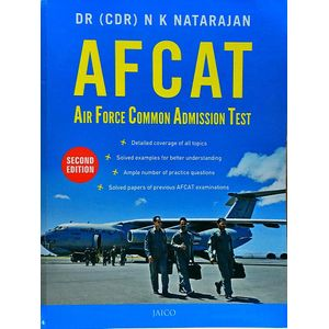 Afcat Air Force Common Admission Test By Dr N K Natarajan-(English)