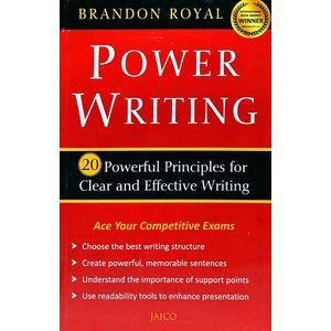 Power Writing By Brandon Royal-(English)