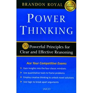 Power Thinking By Brandon Royal-(English)