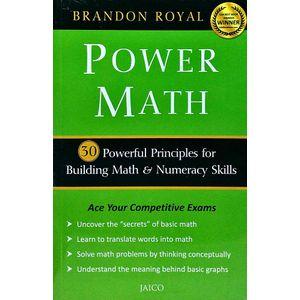 Power Math By Brandon Royal-(English)