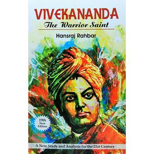 Vivekananda The Warrior Saint By Hansraj Rahbar-(English)