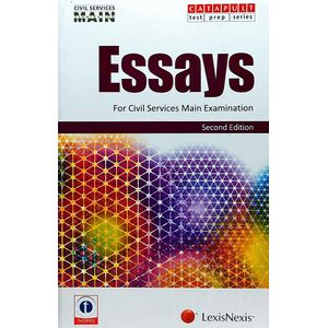 Essays For Civil Services Main Examination By Showick Thorpe-(English)
