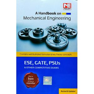 A Handbook On Mechanical Engineering Ese, Gate, Psus & Other Competitive Exams By Made Easy Experts-(English)