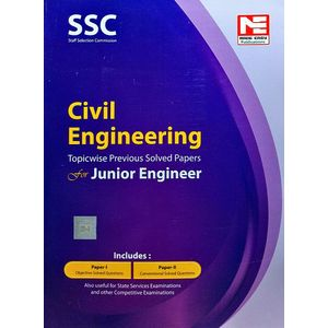 Ssc Je Civil Engineering Topicwise Previous Solved Papers By Made Easy Experts-(English)