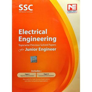 Ssc Je Electrical Engineering Topicwise Previous Solved Papers By Made Easy Experts-(English)