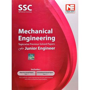 Ssc Je Mechanical Engineering Topicwise Previous Solved Papers By Made Easy Experts-(English)