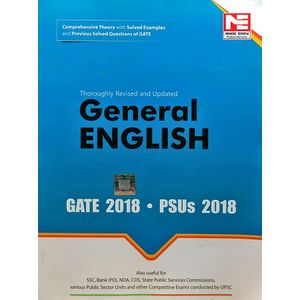 General English For Gate & Psus 2018 By Made Easy Experts-(English)