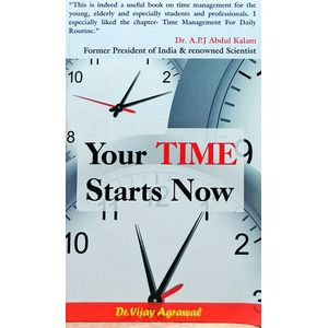 Your Time Starts Now By Dr Vijay Agrawal-(Hindi)
