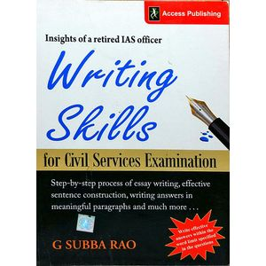 Writing Skill For Civil Services Examination By G Subba Rao-(English)