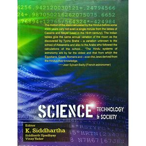 Science Technology And Society By K Siddhartha-(English)