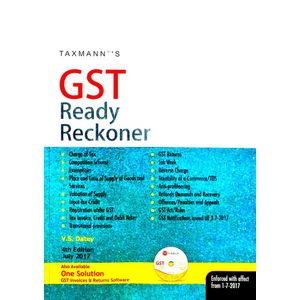 Gst Ready Reckoner July 2017 By V S Datey-(English)