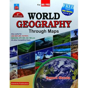 World Geography Through Maps By Pramod Sharma-(English)