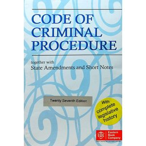 Code Of Criminal Procedure By Editorial Team-(English)