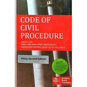 Code Of Civil Procedure By Editorial Team-(English)