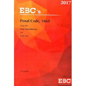 Penal Code, 1860 Along With State Amendment And Case Law By Editorial Team-(English)