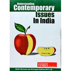 Understanding Contemporary Issues In India By Vivek S Raj-(English)