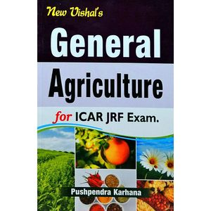 General Agriculture For Jrf Exam By Pushpendra Karhana-(English)