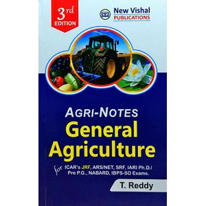Agri Notes General Agriculture By T Reddy-(English)