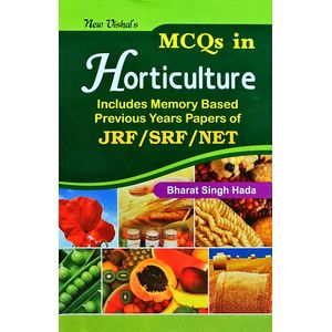 Mcqs In Horticulture By Bharat Singh Hada-(English)