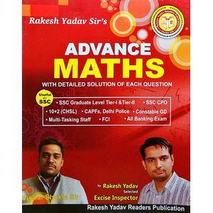 Advance Maths By Rakesh Yadav-(English)