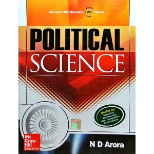 Political Science By N D Arora-(English)