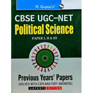 Cbse-Ugc-Net Political Science Paper 1,2,3 Previous Papers By Rph Editorial Board-(English)