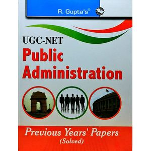 Ugc-Net Public Administration Previous Papers By Rph Editorial Board-(English)