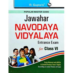 Jawahar Navodaya Vidyalaya Entrance Exam Popular Master Guide Class 6 By Rph Editorial Board-(English)