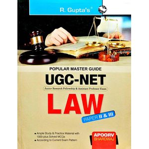 Cbsc Ugc-Net Law Paper 2 & 3 By Apoorv Bhardwaj-(English)