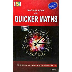 Magical Book On Quicker Maths By M Tyra-(English)