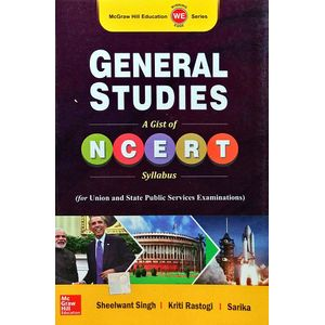General Studies 1 Ncert By Sheelwant Singh, Kriti Rastogi, Sarika-(English)