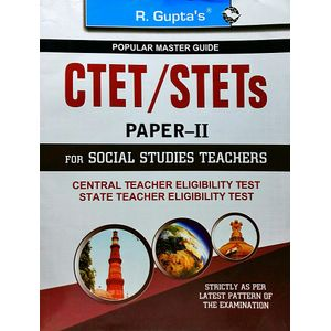 Ctet/Stets Papers 2 For Social Studies Teachers By R Gupta Experts-(English)