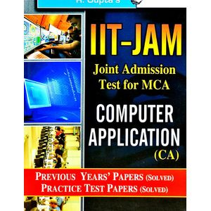 Iit-Jam Mca Computer Application Previous Papers Solved By Rph Editorial Board-(English)
