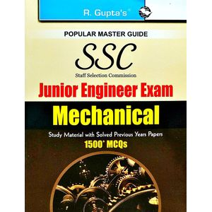 Ssc Junior Engineers Mechanical Exam Guide Popular Master Guide By Rph Editorial Board-(English)