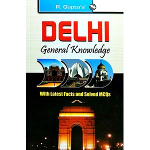 Delhi General Knowledge By Rph Editorial Board-(English)