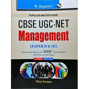 Ugc-Net Management Paper 2 & 3 By Sima Kumari-(English)